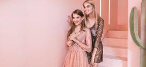Abiti da sera in lurex STMA di Stefania Marra per The Blonde Salad di Chiara Ferragni